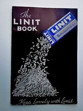 1939 THE LINIT BOOK Corn Products Refining Co New York NY Laundry Starch