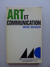 René Berger  -  Art et communication