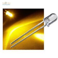 100 x LED 5mm GIALLO wtn-5-10000ge, diodo luminoso con resistenza ZB 12V,