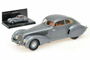1/43 MINICHAMPS Bentley Embiricos 1938 Silver New IN Box Free Shipping Home