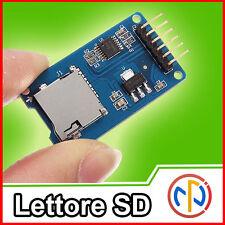 Lettore Sd card Writer Arduino SPI