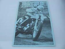Original Harley Davidson Race Poster Duquoin, Illinois Jay Springsteen