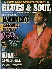 David Joseph Blues & Soul Issue 377 1983  Angela Bofill  Marvin Gaye  Spryo Gyra