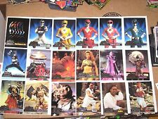 1995 Fleer Ultra Mighty Morphin Power Rangers Movie 150 BASE Card SET + FREE pop