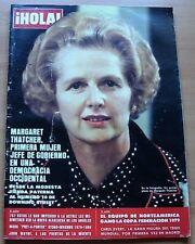 HOLA 1812 MARGARET THATCHER Cover 1979 CHRIS EVERT IRENE MIRACLE BIRGIT HAMER
