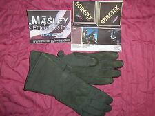 MASLEY GLOVES MEDIUM WIDE GORE-TEX LEATHER NOMEX NEW wot USA MILITARY CW FLYERS