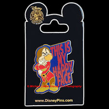 Disney 2014 Seven Dwarfs Grumpy This Is My Happy Face Pin