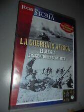 DVD LA GUERRA IN AFRICA EL ALAMEIN LE RAGIONI DI UNA SCONFITTA FOCUS STORIA