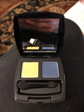 AVON TRUE COLOR EYESHADOW DUO, GOLDEN RIVIERA, GOLD & BLUE, NEW IN BOX
