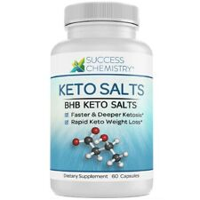 Keto Bhb Sel XP Poids Perte Supplément Rapide Régime Pilules Gras Brûleur 60 Cap