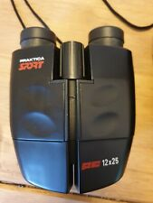 PRAKTICA SPORT BINOCULARS PC 12x25 With case, carry strap, lens covers and cloth