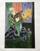 Henri Matisse Art Print German Painting Artwork Flowers Calla Lilies Irises Rare