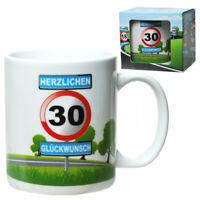 30.Geburtstag Tasse Kaffeetasse Coffee mug,Happy Birthday,Neu