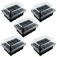 88B1 New Useful Durable 12 Cells Hole Plant Seeds Grow Box Tray Seeding Case