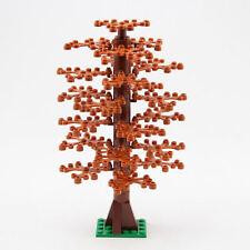 Lego Dark Orange 20cm Tree Custom to suit City, Kingdom, Train