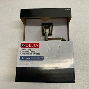 Delta 75146-PN Dryden Towel Ring, Brilliance Polished Nickel