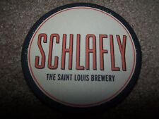SCHLAFLY THE SAINT LOUIS BREWERY  BEER COASTER S MINT 1ST NEW SINCE PROHIBITION