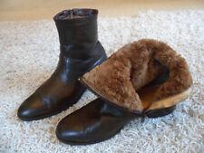 Herren Boots Stiefeletten Stiefel Winter Nappa Leder Lammfell Fell braun 10  44,5 fbfa403f50