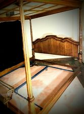Drexel Heritage grand tour 4 post canopy Mahogany king size bed frame