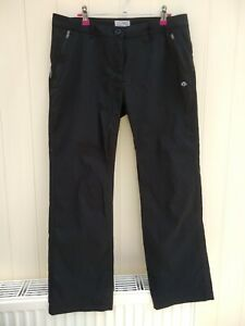 Ladies Walking Trousers by CRAGHOPPERS Size 14 S excellent condition