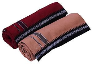 Men Colored Lungi - Pack of 2 su