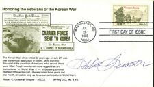 "Vietnam War Fighter Pilot ROBINSON ""ROBBIE"" RISNER Autograph"