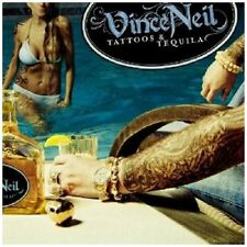 Vince Neil Tattoos & Tequila CD NEW SEALED 2010 Metal Motley Crue