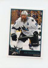 17/18 PANINI NHL STICKER #386 JOE THORNTON SHARKS *40700