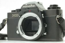 【EXC 】 Minolta XD Black 35mm SLR Manual MF Film Camera MD Mount Japan 1918