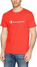 Champion T-Shirt (11 Colors)(S-3XL) Script Logo Adult Tee Cotton Athletic Fit