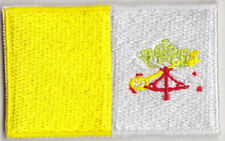 Vatican City Country Flag Embroidered Patch T4