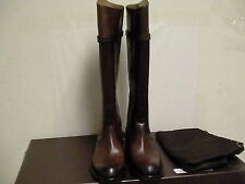 Women's Gucci betis matt coca high knee boots size 36 euro Brown Leather