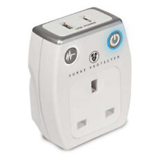 Masterplug Surge Protected Mains USB Charger SRGAUSBPW For Mobile Phones