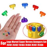 6Pcs Gems Infinity Power Stones For Lego Marvel Super Heroes Avengers Set   !