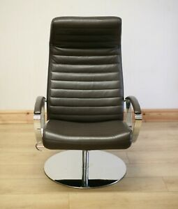 BoConcept Wing Recliner Leather Armchair / Chair