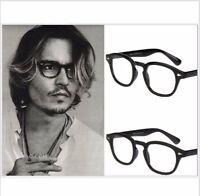 7b65b367291 Johnny Depp Style Glasses Retro Vintage Optical Spectacle Frame Round  Quality