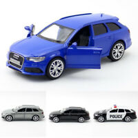 1:36 Audi RS 6 Avant Wagon Model Car Diecast Gift Toy Vehicle Kids Pull Back