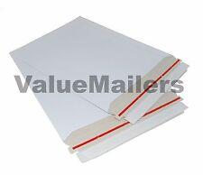 100 Stay Flat Mailers 50 ea 6x8 & 7x9 Photo CD DVD