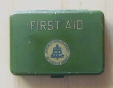 Vintage First Aid Kit tin Bell System telephone box mini