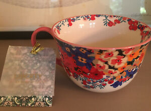 Liberty of London for Anthropologie Floral Tea Cup/Mug Limited Edition NWT