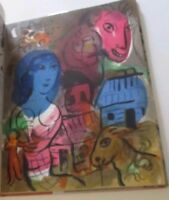ORIGINAL MARC CHAGALL LITHOGRAPH IN THE HOMAGE SPECIAL ISSUE OF XX SIECLE BOOK