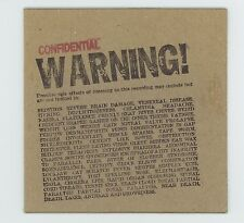 Will Durst 2005 Limited Edition CD Warning! SIGNED Cover with Bio Card + Insert