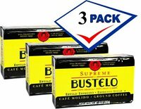 Bustelo Supreme Coffee 10 Oz. Pack of 3  Free Shipping