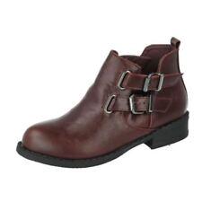 Chaussures en synthétique avec boucle pour fille de 2 à 16 ans pointure 33