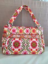 Vera Bradley Pink Folkloric Stephanie Handbag Tote Bag Flowers Unused