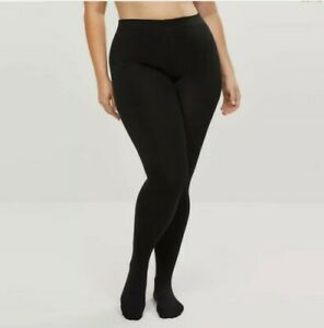 Lane Bryant Fleece Lined Smoothing Tights NWT Size A/B