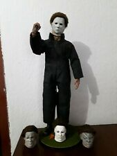 1/6 Custom Halloween Michael Myers Action Figure with 3 heads+Base UPDATE!