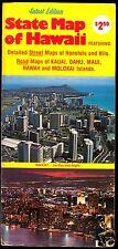 Touristenkarte, Hawaii, um 1986
