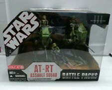 Star Wars Target Exclusive At-Rt Assault Squad Battle Packs Revenge of the Sith