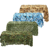 3X2m Woodland Camouflage Netting Military Army Camo Hunting Shooting Hide Cover